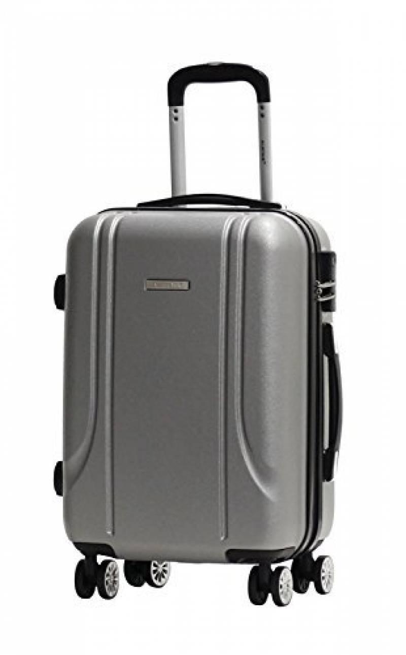 Valise cabine rigide 4 roues légère Travel's Classic 55 cm Noir 0YtEdXeL