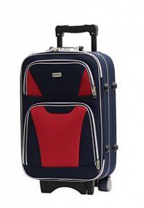 Valise Taille Cabine Alistair Bridge 55cm - Toile Nylon Ultra Léger - 3 Roues de la marque Alistair image 0 produit
