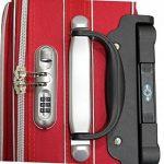 Valise Taille Cabine Alistair Bridge 55cm - Toile Nylon Ultra Léger - 3 Roues de la marque Alistair image 4 produit