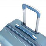 """Valise Taille Moyenne 65cm Alistair """"Iron"""" - Abs Ultra Légère - 4 roues de la marque Alistair image 3 produit"""
