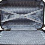 Valise trolley cabine 4 roues 55 cm Polycarbonate rigide de la marque TROLLEY ADC image 4 produit