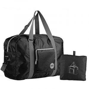 WANDF Foldable Travel Duffel Bag Super Lightweight for Luggage, Sports Gear or Gym Duffle, Water Resistant Nylon de la marque WANDF image 0 produit