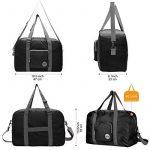 WANDF Foldable Travel Duffel Bag Super Lightweight for Luggage, Sports Gear or Gym Duffle, Water Resistant Nylon de la marque WANDF image 1 produit