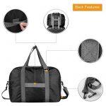WANDF Foldable Travel Duffel Bag Super Lightweight for Luggage, Sports Gear or Gym Duffle, Water Resistant Nylon de la marque WANDF image 3 produit