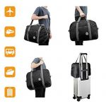 WANDF Foldable Travel Duffel Bag Super Lightweight for Luggage, Sports Gear or Gym Duffle, Water Resistant Nylon de la marque WANDF image 4 produit