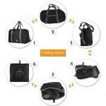 WANDF Foldable Travel Duffel Bag Super Lightweight for Luggage, Sports Gear or Gym Duffle, Water Resistant Nylon de la marque WANDF image 5 produit