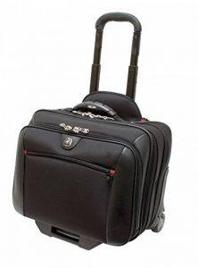 "Wenger GA-7001-02F00 COMP-U-ROLLER 16"" Laptop Briefcase , Padded laptop compartment with iPad/Tablet / eReader Pocket in Grey {10 Litres} de la marque Swiss Gear image 0 produit"