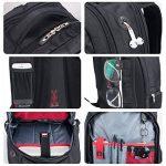 """Winkee SA9360 Sac à dos pour ordinateur portable 15,6"""" Noir de la marque Soarpop image 4 produit"""