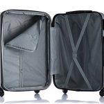WOLTU #375 Valise de voyage rigide bagage de chariot 4 roulettes Lot de 3(M+L+XL) de la marque WOLTU image 4 produit