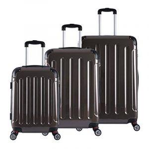 WOLTU #376 Valise chariot étui rigide,baggage chariot Set 4 roues légèrement Lot de 3(M+L+XL) de la marque WOLTU image 0 produit