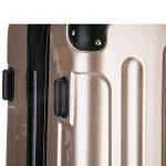 WOLTU #376 Valise chariot étui rigide,baggage chariot Set 4 roues légèrement Lot de 3(M+L+XL) de la marque WOLTU image 6 produit