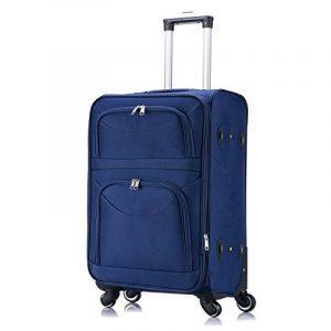 WOLTU #468 Valise Chariot tissu 4 roulettes,Voyage valise trolley 1200D Oxford soft shell,Bagages Voyage souple Bagage à main de la marque WOLTU image 0 produit