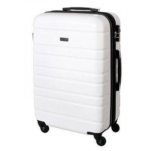 XL valise Côtés rigides, roulettes 80 l-Blanc - 815 B de la marque Karry image 0 produit