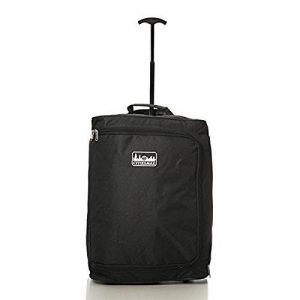 Xtreme Sac à roulettes Bagage à main Taille maximale approuvée Ryanair 42l Noir de la marque AEROLITE image 0 produit