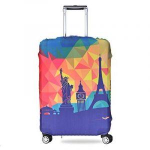ZZ Sanity Travel Luggage Protector Covers Elastic Spandex Suitcase Housse de protection Ensembles de sacs de la marque ZZ Sanity image 0 produit
