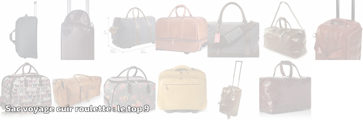Voyage RouletteLe Cuir Pour 2019 Sac 9 Top Bagages PXiTkwZOul